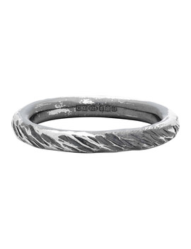 silver-transmission-scarred-ring by chin-teo
