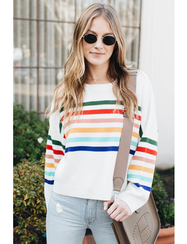 Over The Rainbow Sweater by Amaryllis Apparel