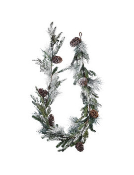 24m-snowy-pine-garland by floristry
