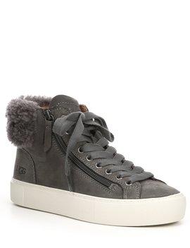 briena-hi-top-suede-sneakers by ugg