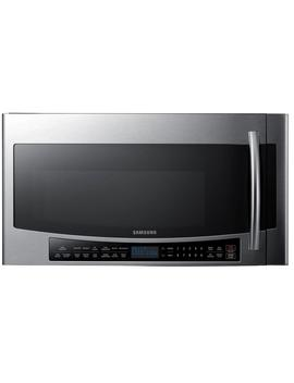 30-in-w-17-cu-ft-over-the-range-convection-microwave-in-fingerprint-resistant-stainless-steel-with-sensor-cooking by samsung