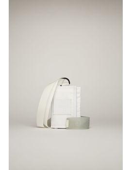 tri-fold-key-holder-white_black by acne-studios
