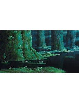 princess-mononoke---mononoke-hime-(studio-ghibli)-photographic-print by ernestouchiha