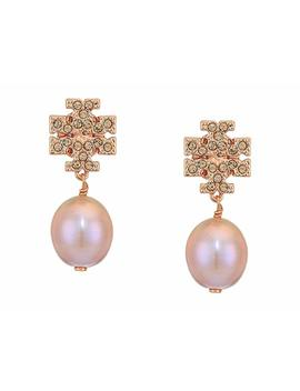kira-pave-pearl-drop-earrings by tory-burch