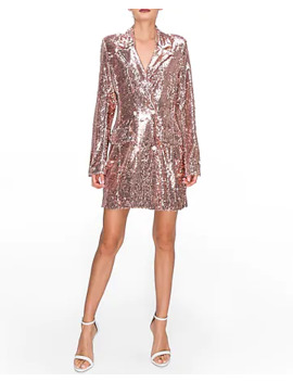 endless-rose-pink-sequin-double-breasted-blazer-dress by express