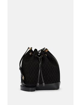 monogram-suede-bucket-bag by saint-laurent