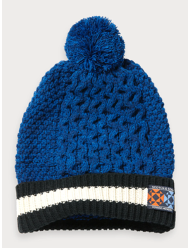 Cable Knit Beanie by Scotch&Soda