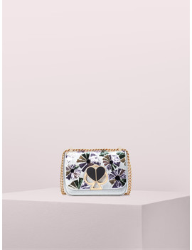 Nicola Floral Twistlock Small Convertible Chain Shoulder Bag by Kate Spade