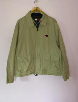 vintage-tommy-hilfiger-jacket by vintage  ×  tommy-hilfiger  ×  streetwear  ×