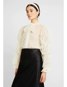 pillow-puff-bow-blouse---bluser by sister-jane