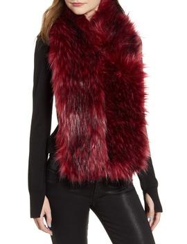 faux-fur-wrap by gucci