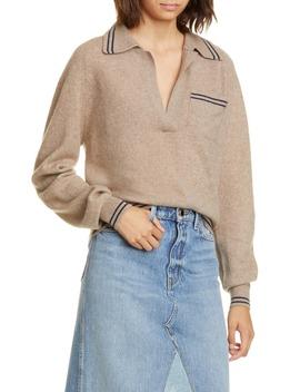 ellen-cashmere-polo-sweater by khaite