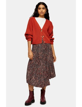 v-neck-cropped-cardigan by topshop
