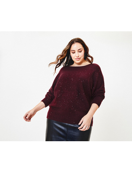 Curve Batwing Jumper* by Oasis