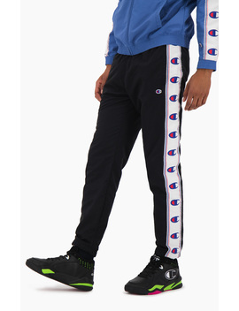 C Logo Tape Track Pants by Champion