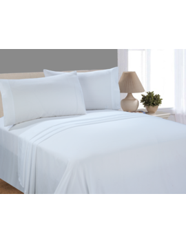mainstays-microfiber-sheet-set,-queen,-arctic-white by mainstays