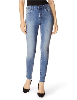 maria-high-rise-skinny-jean-with-raw-hem by j-brand