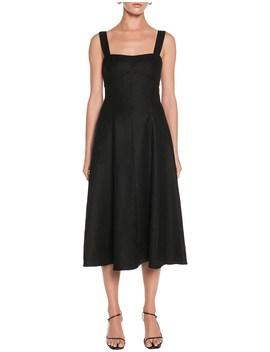 drapey-weave-slip-dress by veronika-maine