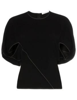 marcie-cape-sleeve-top by rejina-pyo