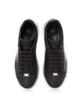 Britt Black Leather by Moda In Pelle