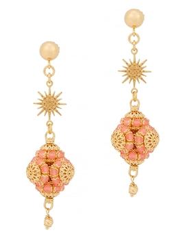 loredana-24kt-gold-plated-drop-earrings by soru-jewellery