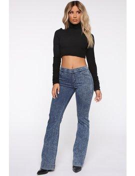 step-up-mid-rise-flare-jeans---dark-denim by fashion-nova