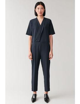 wrap-front-jumpsuit by cos