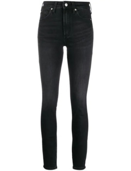 high-rise-skinny-jeans by calvin-klein