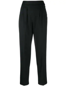 tapered-leg-trousers by calvin-klein