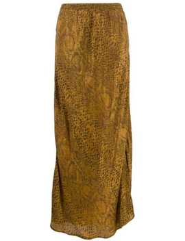 python-print-long-skirt by mes-demoiselles