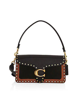 tabby-rivet-border-mixed-leather-bag by coach