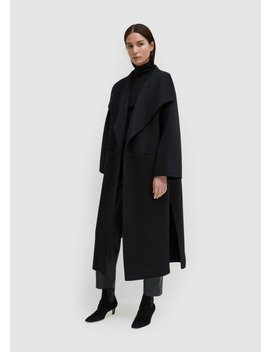 Annecy Coat Black by Toteme