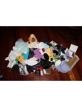 huge-lot-of-ag-and-non-ag-clothing_accessories-for-ag-doll-or-other-18-inch-doll by ebay-seller