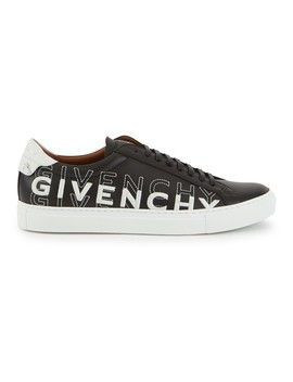 low-trainers-in-leather,-with-gradient-effect-givenchy-name by givenchy