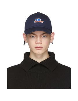 navy-adjustable-logo-cap by ader-error