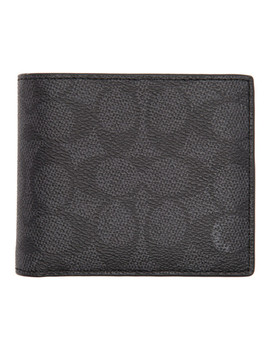 black-signature-compact-id-wallet by coach-1941