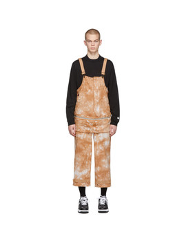 brown-dickies-edition-tie-dye-dragon-overalls by clot