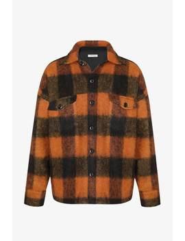 Samone Jacket   Orange Plaid by Orchard Mile