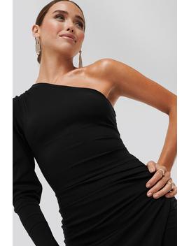 evangelista-one-shoulder-dress-black by adika-x-na-kd