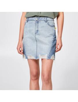 bettina-liano-midi-two-tone-skirt---midwash-blue by target