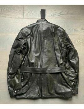 new-belstaff-mens-leather-jacket-panther-black-48-rrp-£1495-medium-*reduced* by ebay-seller