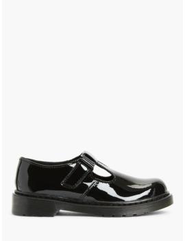 dr-martens-childrens-ailis-mary-jane-shoes,-black-patent by dr-martens