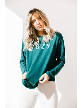 Stay Cozy Top by Luca And Grae