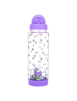 lala-the-llamacorn-snowglobe-water-bottle---purple by claires