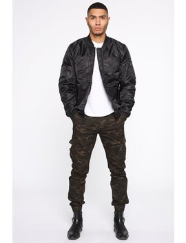 word-on-the-street-quilted-bomber-jacket---black by fashion-nova