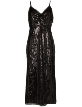 sequinned-slip-midi-dress by miu-miu