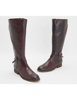 frye-leather-_belted-medium-calf-tall-boots---melissa by a-fitted-sweater-and-jeans-to-a-bohemian-maxi-dress-from-frye-page-1