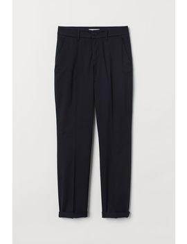 spodnie-chinos-do-kostki by h&m