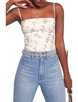 overland-floral-camisole by reformation