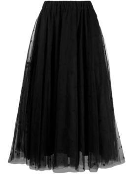 tulle-midi-skirt by parosh